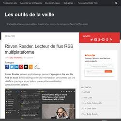 Raven Reader. Lecteur de flux RSS multiplateforme