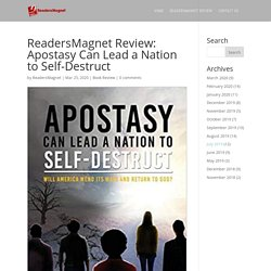 ReadersMagnet Review: Apostasy Can Lead a Nation to Self-Destruct
