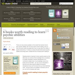 6 books worth reading to learn psychic abilities - Psychic Development