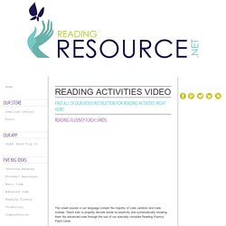 Reading Activities - Video Instruction