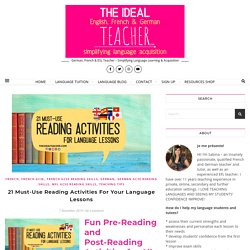21 Must-Use Reading Activities For Your Language Lessons