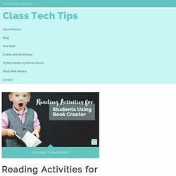 Reading Activities for Students Using Book Creator