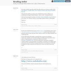 Reading Ardor