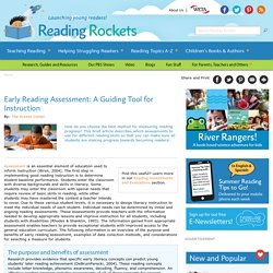 Early Reading Assessment: A Guiding Tool for Instruction