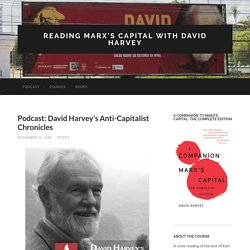 Reading Marx's Capital with David Harvey
