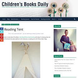 A Reading Tent - Children's Books Daily...