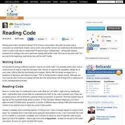 Reading Code