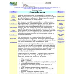 Reading comprehension, English comprehension