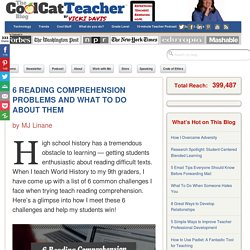 6 Reading Comprehension Problems & What To Do About It
