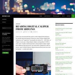 Reading Digital Caliper From Arduino