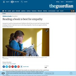 Reading a book is best for empathy