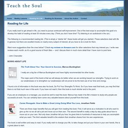 Reading for Life - Teach the Soul