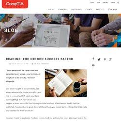 Reading: The Hidden Success Factor