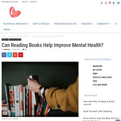 Can Reading Books help improve Mental health?