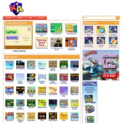 Reading Games – Free, Interesting, Online Reading Games for Kids