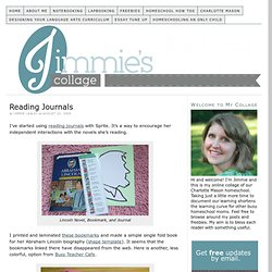 Reading Journals — Jimmie's Collage