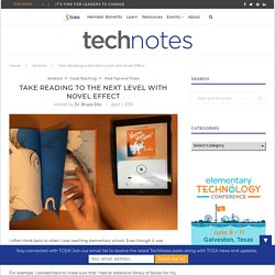 Take Reading to the Next Level with Novel Effect