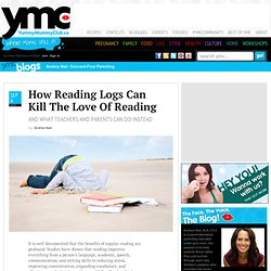 How Reading Logs Can Kill The Love Of Reading