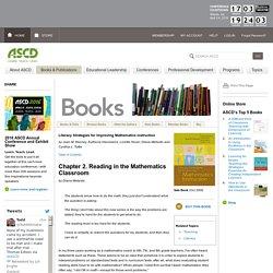 Reading in the Mathematics Classroom