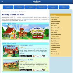 Reading Games – Free Online Reading Comprehension Games for Kids