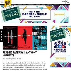 Reading Pathways: Anthony Horowitz