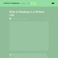 Role of Reading in a Writers' Life