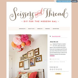 Scissors + Thread, Pallet Reading Bed | Ashley Ann Photography ...