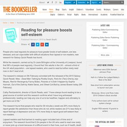 Reading for pleasure boosts self-esteem