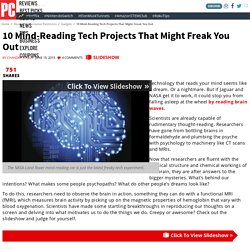 10 Mind-Reading Tech Projects That Might Freak You Out - Minding Your Mind