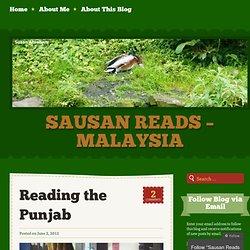 Sausan Reads – Malaysia