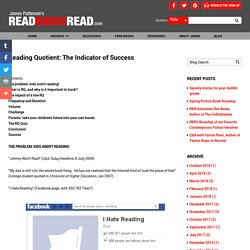 Reading Quotient: The Indicator of Success