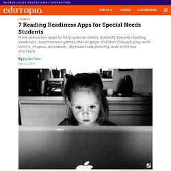 7 Reading Readiness Apps for Special Needs Students