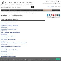 Reading and Teaching Guides