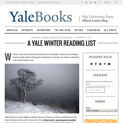 A Yale Winter Reading List - Yale University Press London BlogYale University Press London Blog