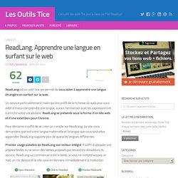 ReadLang. Apprendre une langue en surfant sur le web