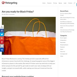 Are you ready for Black Friday? - Retargeting Blog