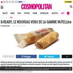 B-ready, le nouveau venu de la gamme Nutella®