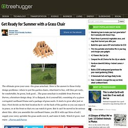 Get Ready for Summer with a Grass Chair