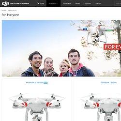 DJI Ready to Fly Systems - Phantom FC40, Phantom 2, Phantom 2 Vision