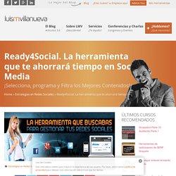 Ready4Social. Ahorra tiempo en Redes Sociales.