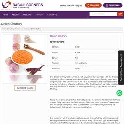 Readymade Onion Chutney, Silbatta Made Onion Chutney Expoter in Gurgaon, Haryana