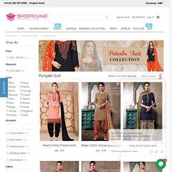 Punjabi Suits boutique Online UK, Patiala salwar Suits, Punjabi salwar kameez