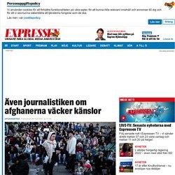 Brask: Starka reaktioner på journalistik om afghaner