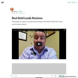 Real Bold Leads Reviews – Medium