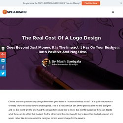 The Real Cost Of A Logo Design