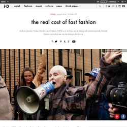 the real cost of fast fashion