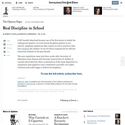 real-discipline-in-school