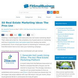 50 Real Estate Marketing Ideas The Pros Use