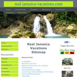 Real-Jamaica-Vacations Sitemap