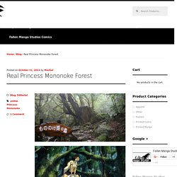 Real Princess Mononoke Forest -